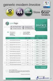 invoice template illustrator invoice example