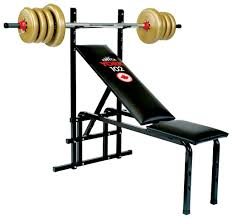102 adjustable bench press machine home gym equipment york barbell