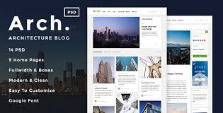 architecture blog arch architecture blog psd template by kchi themeforest