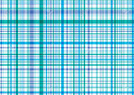 Blue Pattern Background Retro Blue Purple Plaid Illustrated Pattern Background Royalty