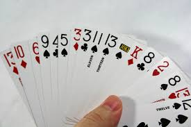 two2six cards 6 handed 500 or solitaire deck of
