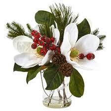 Artificial Flower Arrangement In Vase Faux Flowers Joss U0026 Main