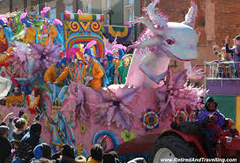 mardi gra floats a blast at mardi gras in new orleans retired and travelling
