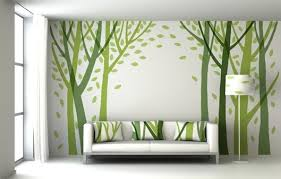 Living Room Wall Decoration Small Living Room Interior With Modern Decorating Wall