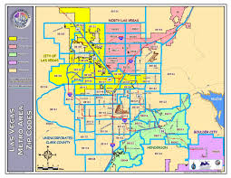 City Of Phoenix Map by Las Vegas Zip Code Map Showing Information Las Vegas North Las