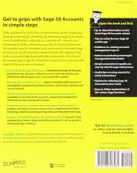 sage 50 accounts for dummies 2014 amazon co uk jane kelly