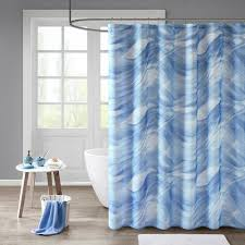 Aqua Blue Shower Curtains Shower Curtains Cottons R Us