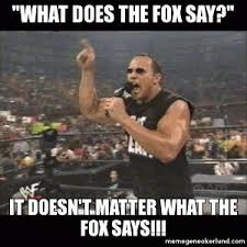 What Did The Fox Say Meme - what does the fox say meme kappit