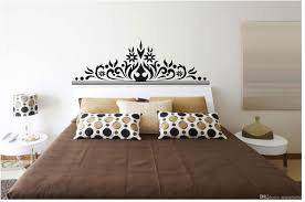 bedroom wall art decal sticker headboard decoration mural material pvc size pack one piece wall decal usage bedroom decoration