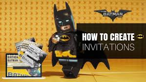 template lovely how to make batman birthday invitations for kids