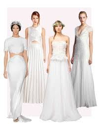 wedding dress ideas 20 city wedding dress ideas for it official in style