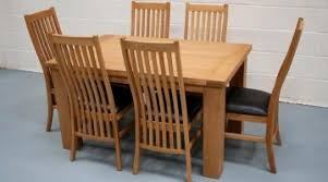 Dining Table Chairs Sale Fabulous Oak Dining Table Chairs Tables Om Tables Createfullcircle