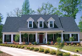 federal home plans this 5 bedroom country home has a lovely exterior with a large