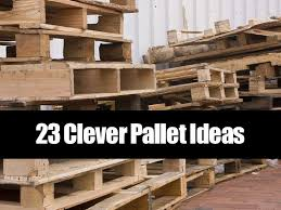 23 pallet projects for home and garden