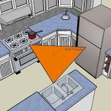 best 25 work triangle ideas on kitchen layouts