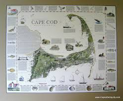a geographic portrait of cape cod massachusetts antique maps and