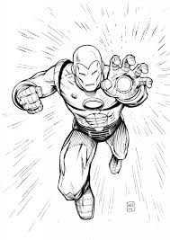 iron man colouring pages pinterest iron comic and marvel