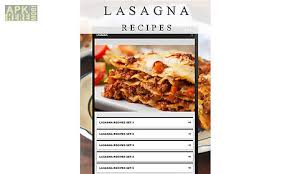 application cuisine android lasagna recipes for android free at apk here store