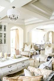 soothing summer home tour 2017 neutral transitional home decor