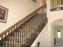 Banister Ends Wood Stair Railing Carpentry And Home Improvement Ideas