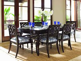 tommy bahama dining table lexington tommy bahama royal kahala islands edge dining table set by