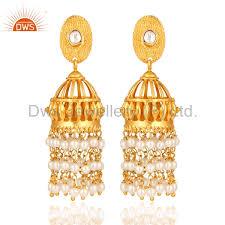 bridal jhumka earrings indian bridal jhumka earrings pearl indian bridal jhumka earrings