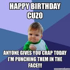 Cousin Meme - birthday cousin