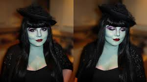 halloween makeup modern green witch she might be loved