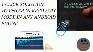 android boot into recovery root one click solution to boot into recovery mode in any android