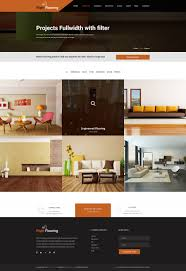 selling home interior products flooring and tiling psd template by template mr themeforest