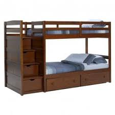 Twin Over Twin Bunk Beds With Stairs Foter - Stairs for bunk beds