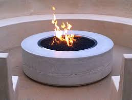 Concrete Fire Pit by Fire Tables Ernsdorf Design Concrete Fire Pit Bowls Furniture