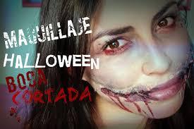 maquillaje boca cortada para halloween easy chelsea smile