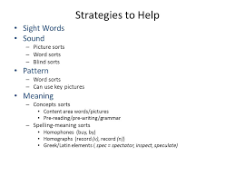 what is word study bean folkes february ppt