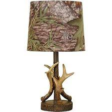 deer antler home decor mossy oak deer antler accent l dark woodtone camo pattern shade