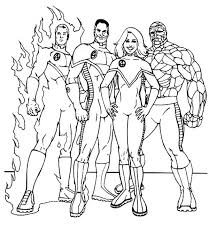 4 coloring pages