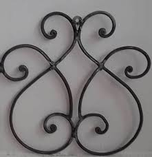 Iron Wrought Wall Decor 79 Best Wrought Iron Medallions Wall Decor Images On Pinterest