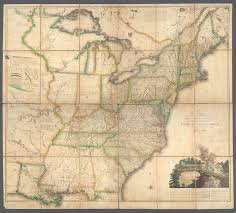 The United States And Canada Map by File A Map Of The United States And British Provinces Of Upper And