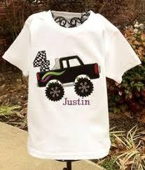 monster truck birthday iron shirt image sister printable iron