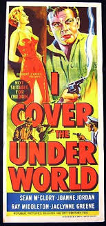 underworld film noir i cover the underworld movie poster 1955 crime film noir original