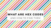 copy hex color code from paint image youtube