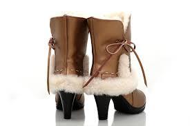 ugg sale high ugg fur leather high heeled boots 5108 gold uggyi00000106 gold