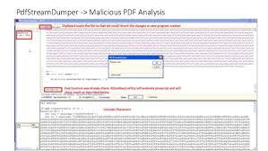 javascript tutorial pdf remnux tutorial 3 investigation of malicious pdf doc documents