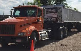 low cost landscape supplies dump truck services