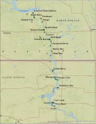 Map Of Sd Sd Gfp Fishing And Boating More Fishing Information