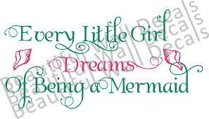 mermaid beautiful wall decals mermaid wall decals view detailed images 2