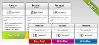 free psd price box templates psd file free download