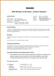 Printable Resume Template 13 Free Resume Template Address Exle