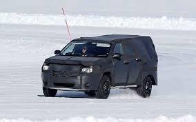 jeep truck 2018 spy photos 2018 dodge dakota pickup trx spy photo rumors redesign