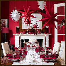 various forms of creativity in decorating the dining room when creative red dining room wall decor